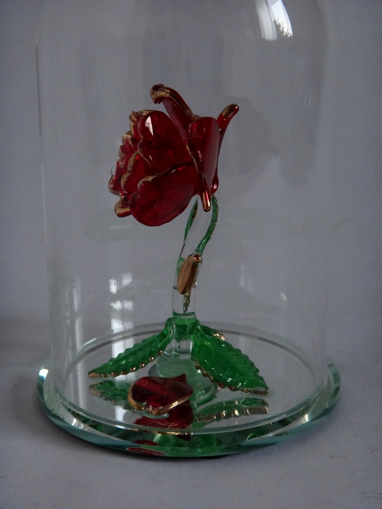 Beauty and the beast enchanted rose glass sculpture by arr flickr beauty and the beast enchanted rose glass sculpture by arribas large us disney store izmirmasajfo Choice Image