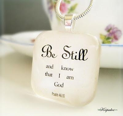 Afbeeldingsresultaat voor wees stil en weet dat ik God ben