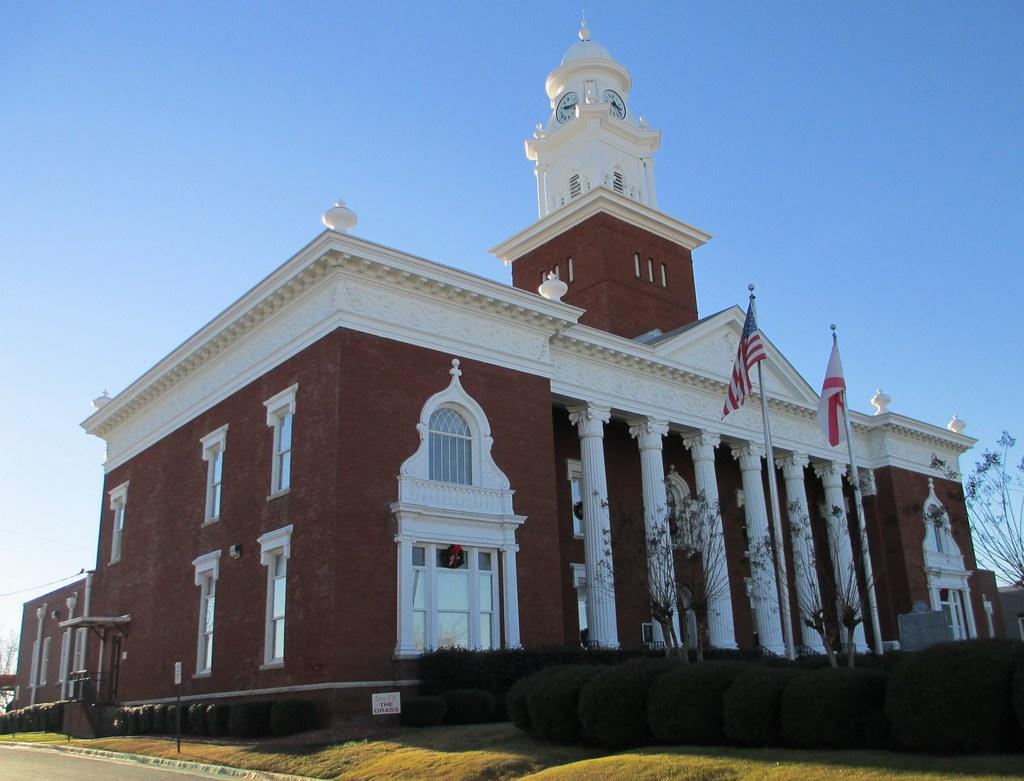 Alabama lee county salem -  Lee County Courthouse Opelika Alabama By Courthouselover