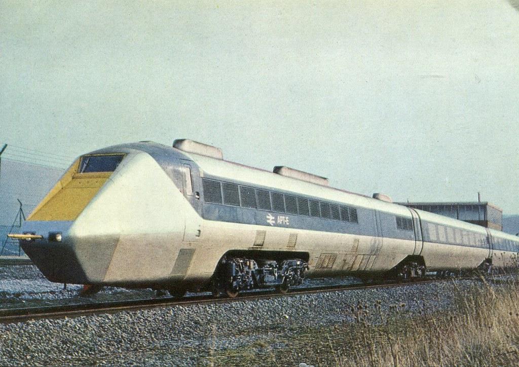 Apt E British Railways Quot Advanced Passenger Train