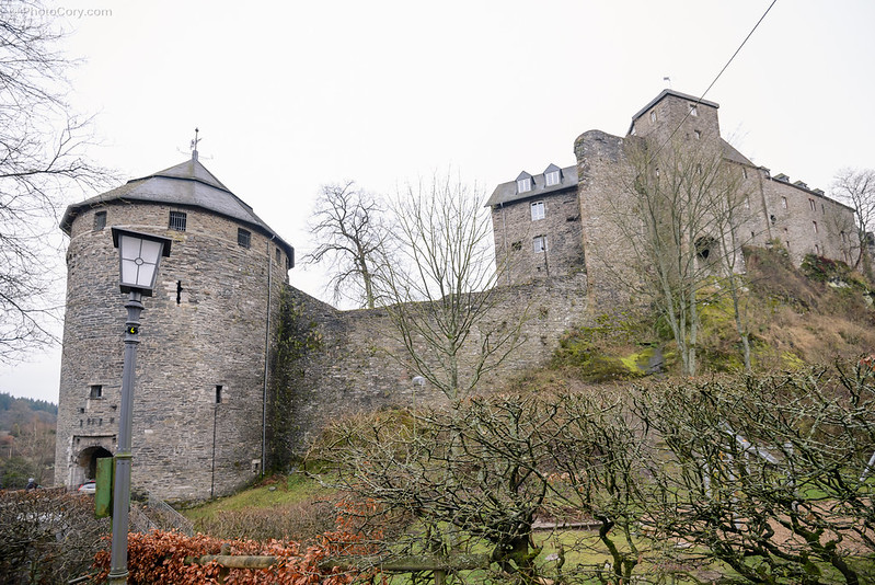 castle in Monschau