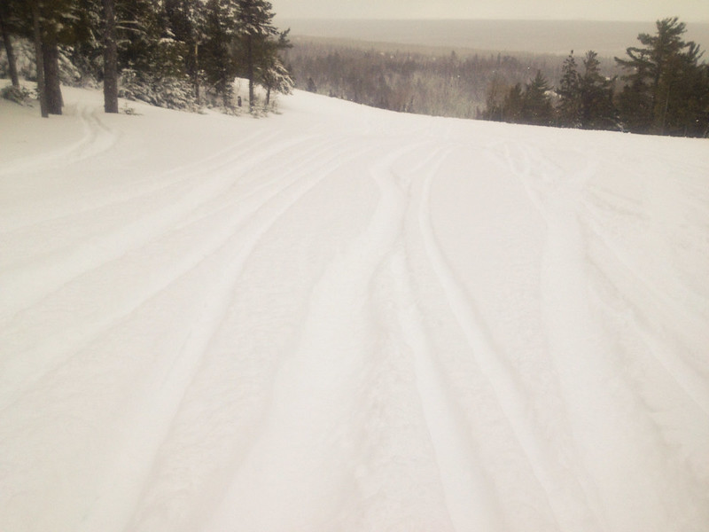 Deep Powder at Lutsen