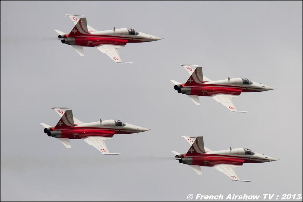 Patrouille Suisse , F-5 Tiger II ,patrouille-suisse.ch, AIRPOWER13 , Zeltweg , Austria , airpower 2013 Zeltweg