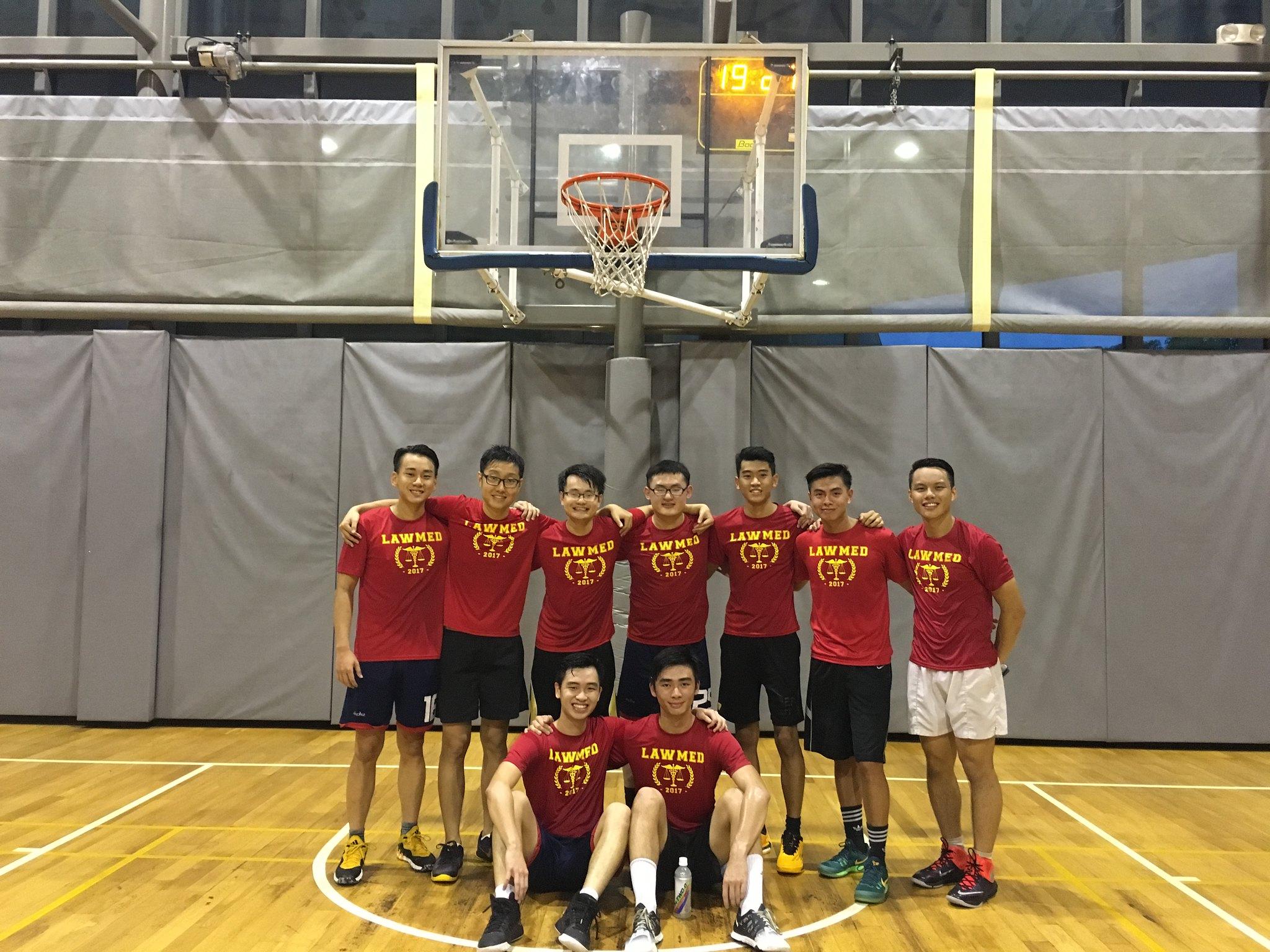 Caption: The Boys: (2nd Row) L-R: Nick Choo (Y2), John Wu (Y1), Your Humble Author (Y1), Walter Wan (Y2), Benedict Ted (Y1), Nick Yap (Y2), Josiah Tham (Y2) (At Front) L-R: Brendan Loy (Y1), Linming Ho (Y1)
