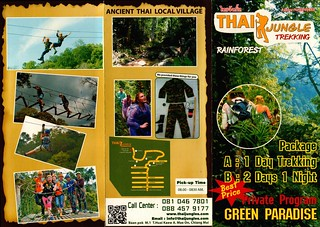 Brochure Thai Jungles Zipline and Trekking 1