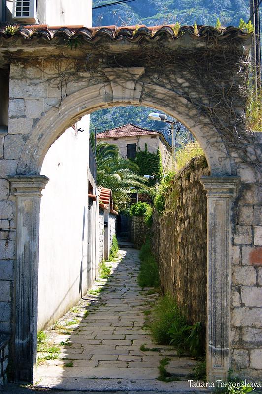 Старая арка ворот