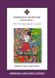 World Day of Prayer 2017