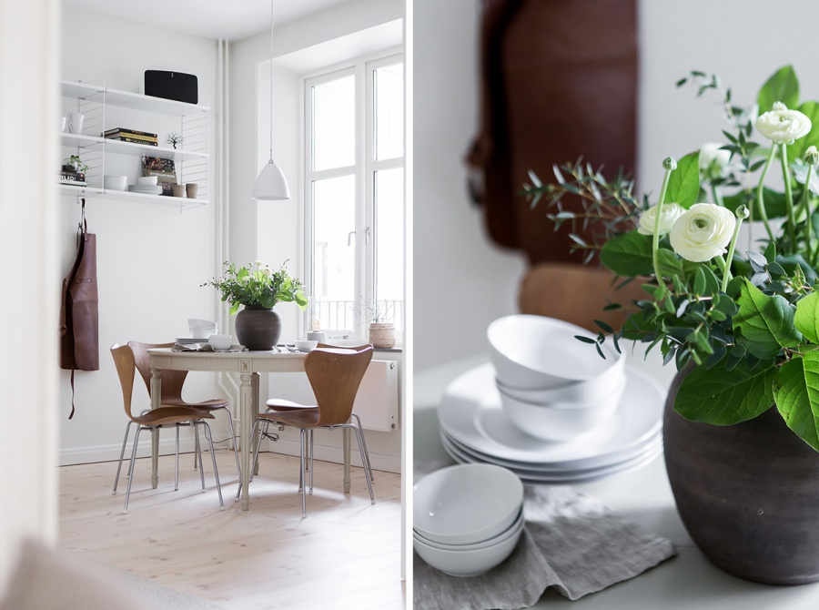 A Very Chic Small Scandinavian House