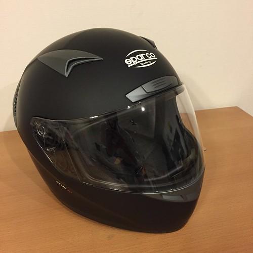 スパルコ ヘルメット Club X1 マットブラック