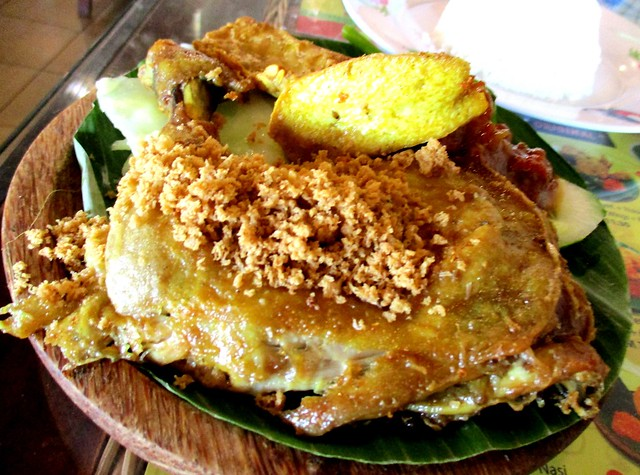 Ayam Penyet Ria ayam penyet with rice 1