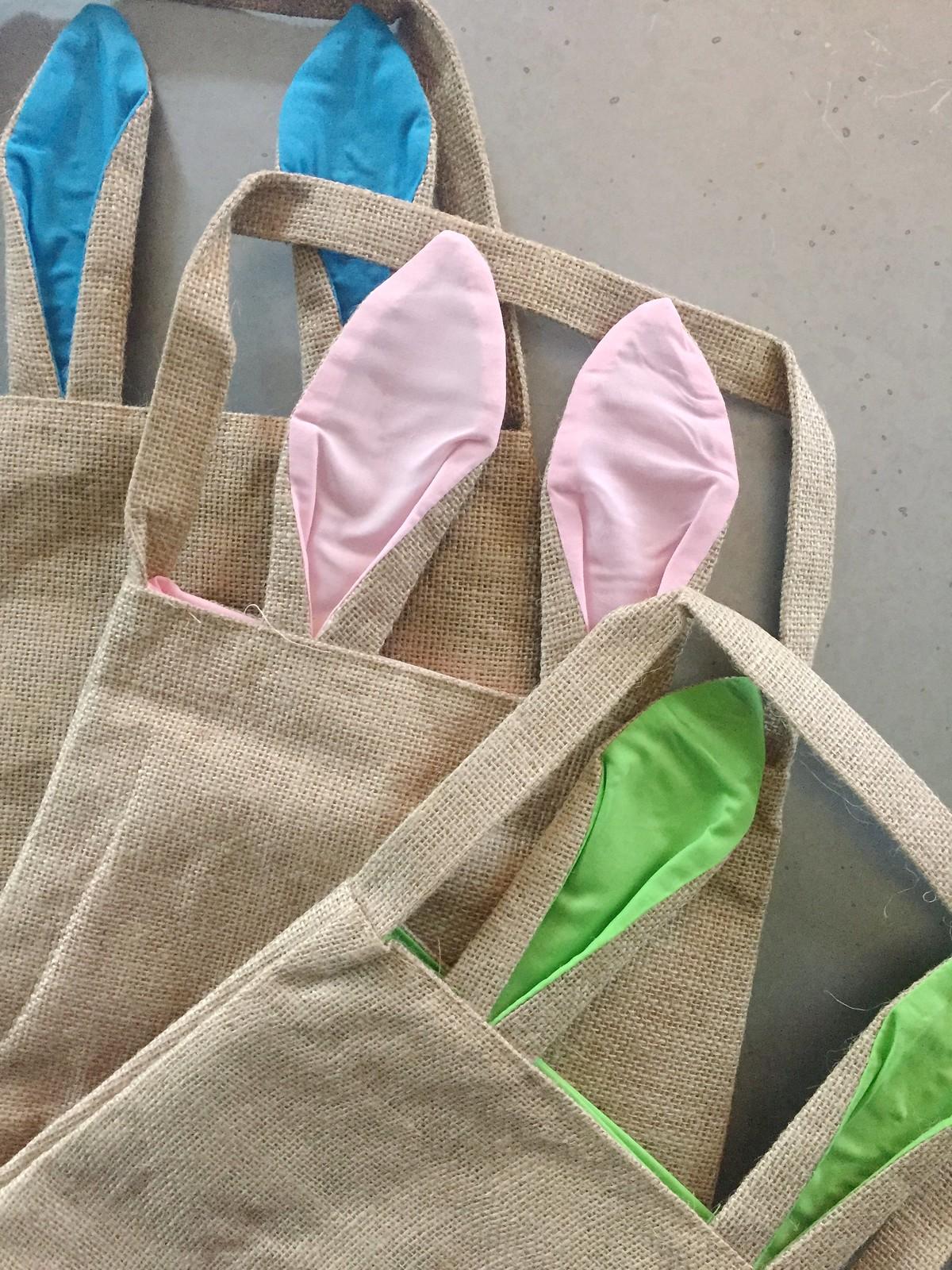 DIY No-Sew Easter Baskets