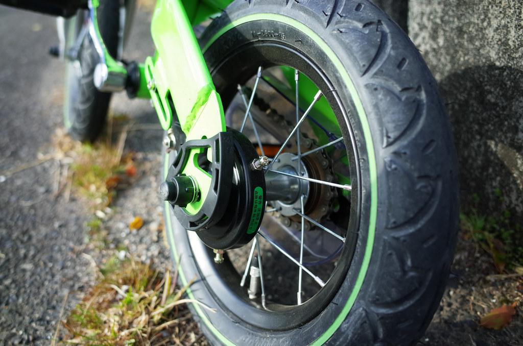 へんしんバイク 後輪ブレーキ