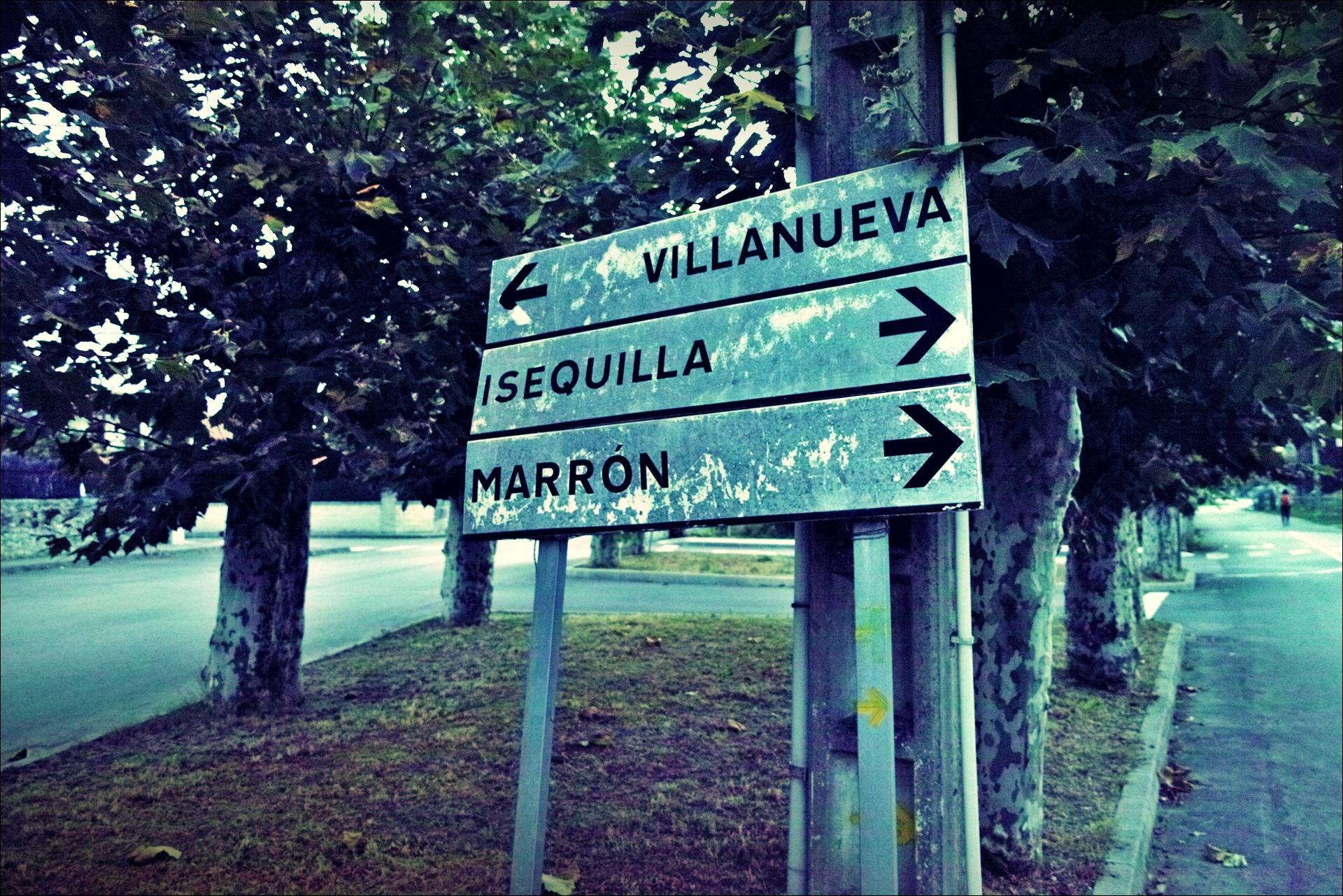 이정표 이세키야?!-'카미노 데 산티아고 북쪽길. 리엔도에서 산토냐. (Camino del Norte - Liendo to Santoña) '