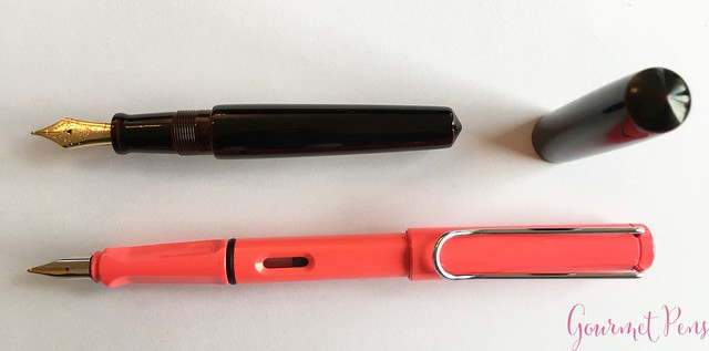 Review Nakaya Piccolo Cigar Kuro-Tamenuri Fountain Pen @Iguana_Sell 10