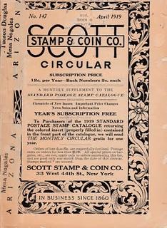 Scott Circular 1919