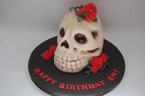 Fine Skull Cake Beautiful Birthday Cakes Funny Birthday Cards Online Barepcheapnameinfo