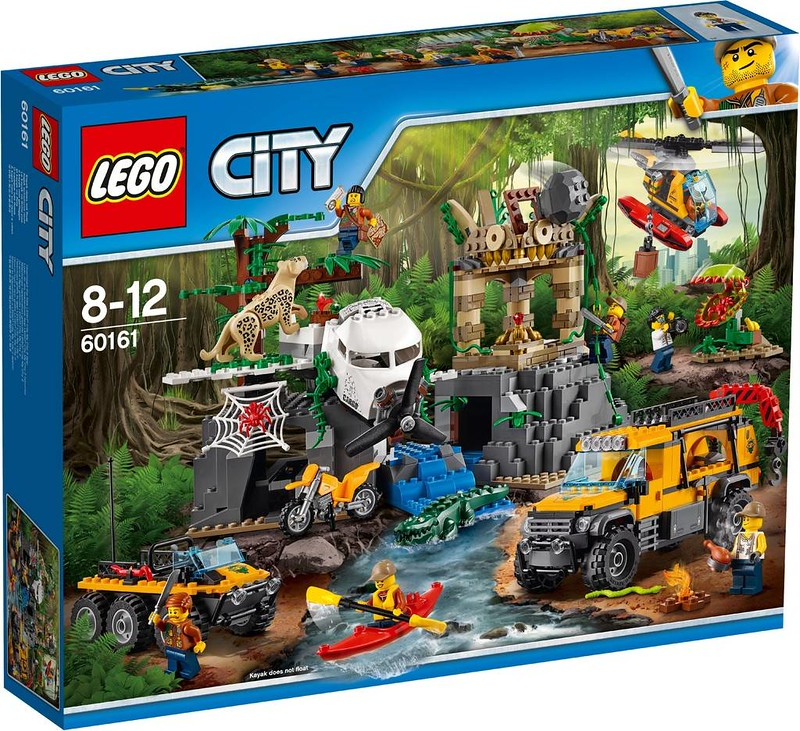 LEGO City Jungle Exploration Site (60161)