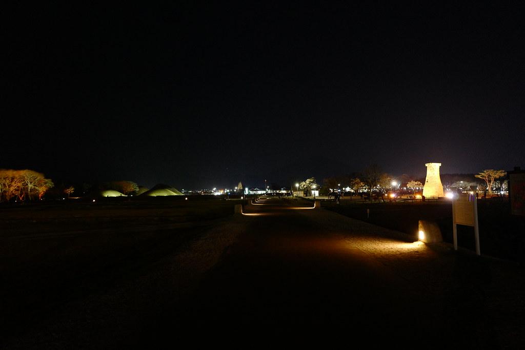 夜拍瞻星台