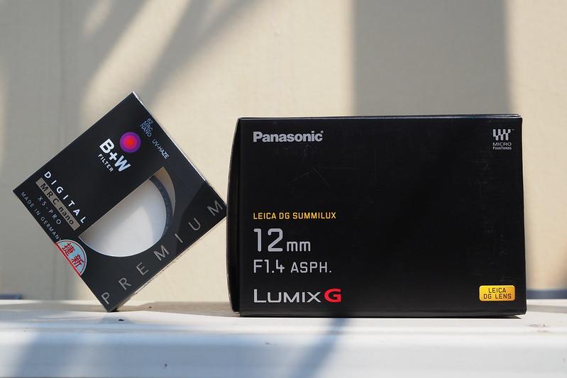 Panasonic Leica DG Summilux 12mm f/1.4|B+W XS-PRO 62mm