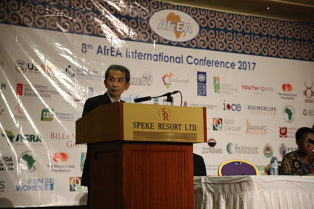 3ie at the 8th AfrEA Conference 2017, Kampala, Uganda