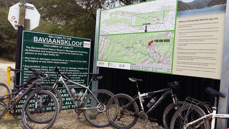 Exiting Baviaanskloof Nature Reserve