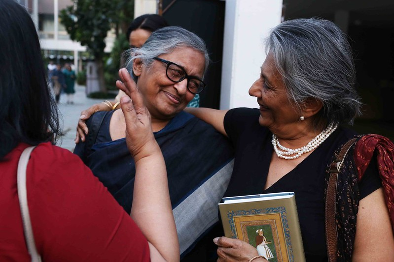 Netherfield Ball – Wicked Babble on Narayani Gupta, Laila Tyabji and Meru Gokhale at TCA Raghavan's Book Launch , India International Center