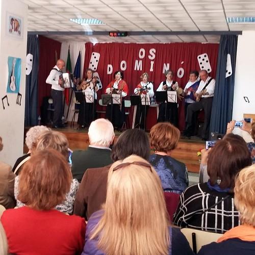 2-4-2017 - Apresentação do grupo musical Dominó