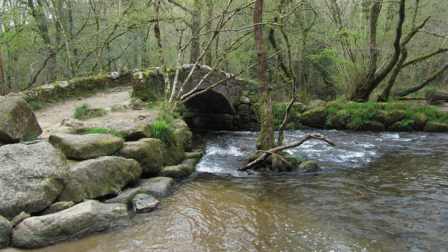 Bridge near Hisley Wood