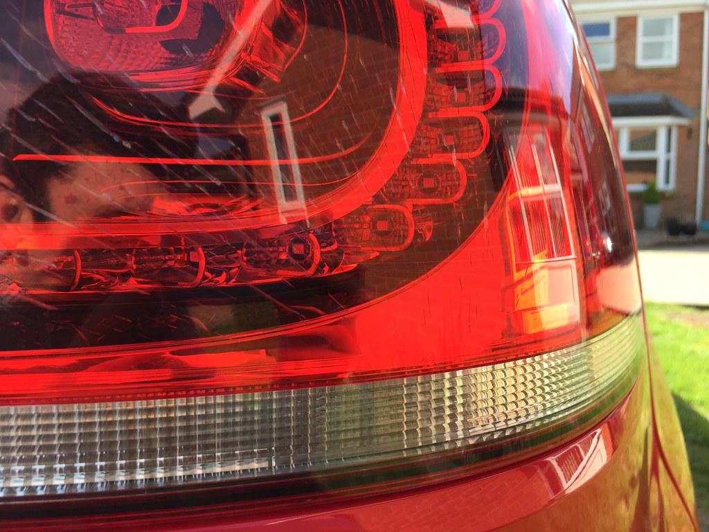 Crazing/Stress Cracking of Tail Light Lens - VW GTI MKVI