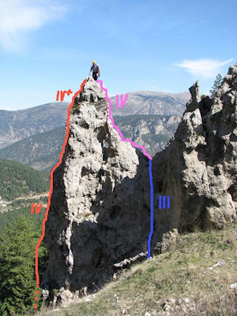 La vall de Lord -09- Coll de Port -02- Agulla Estrambòtica -02- Reseñas (15-05-2017)
