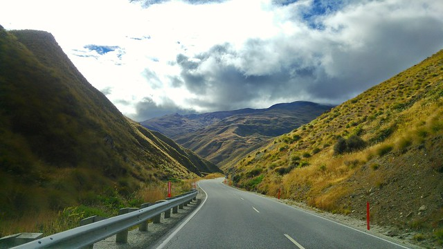 The road to Cardrona