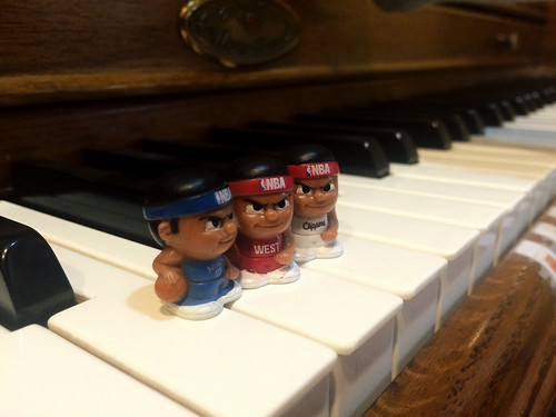 Bball Toys at Piano Lesson (April 28 2016)