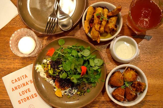 Dinner at Casita Andina, Soho | www.rachelphipps.com @rachelphipps