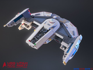 "USS Utah NCC 46277 Starfleet Survey Vessel | by Ben ""Spaceship!"" Smith"