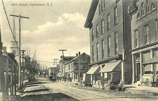 Undated Hightstown, NJ postcard
