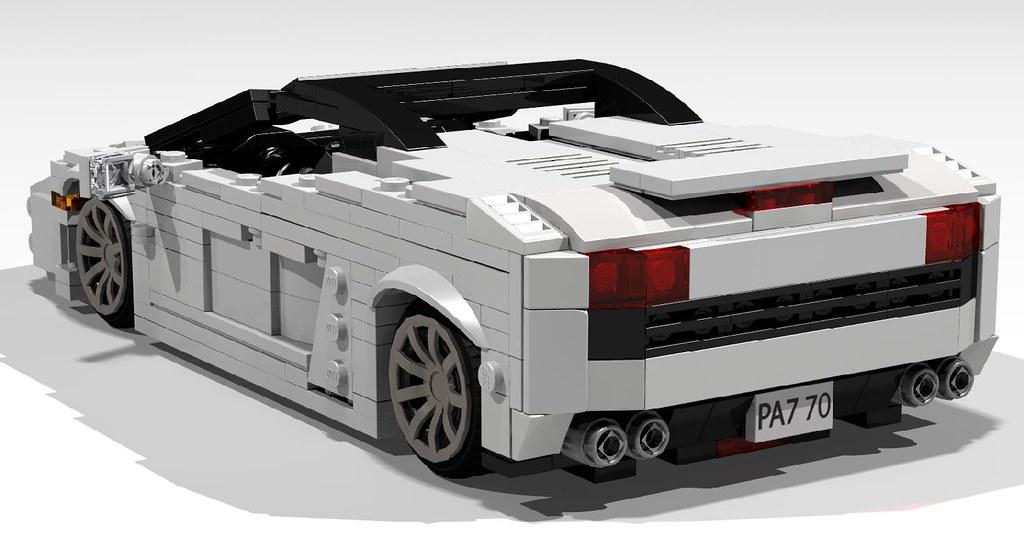 Lego Lamborghini Gallardo Lp560 4 Spyder Never Liked The O Flickr