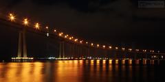 Coronado bridge at night - San Diego