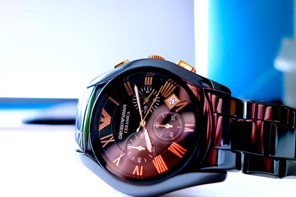 Emporio Ceramica Watch
