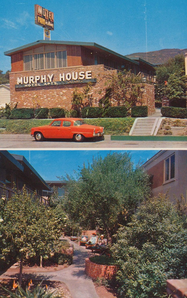 Murphy House Hotel Apts. - Laguna Beach, California