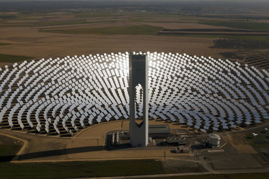 Ps20 Solar Thermal Power Plant Spain The Ps20 Solar