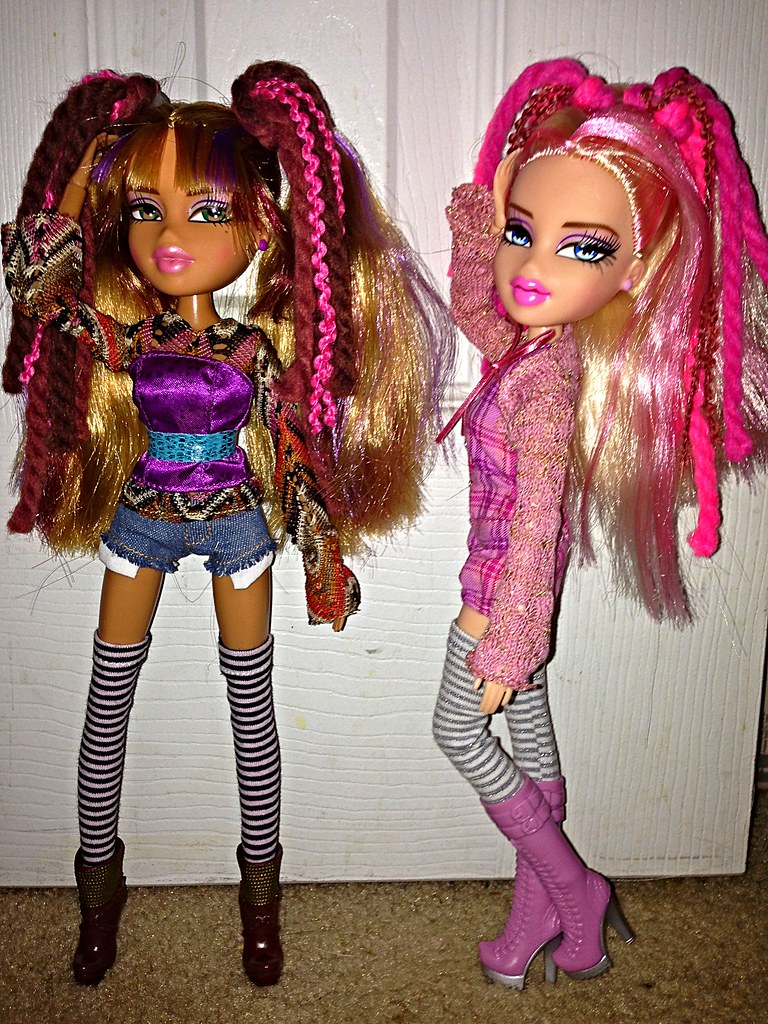 Bratz Twisty Style Cloe Yasmin Right Out Of The Box No Flickr