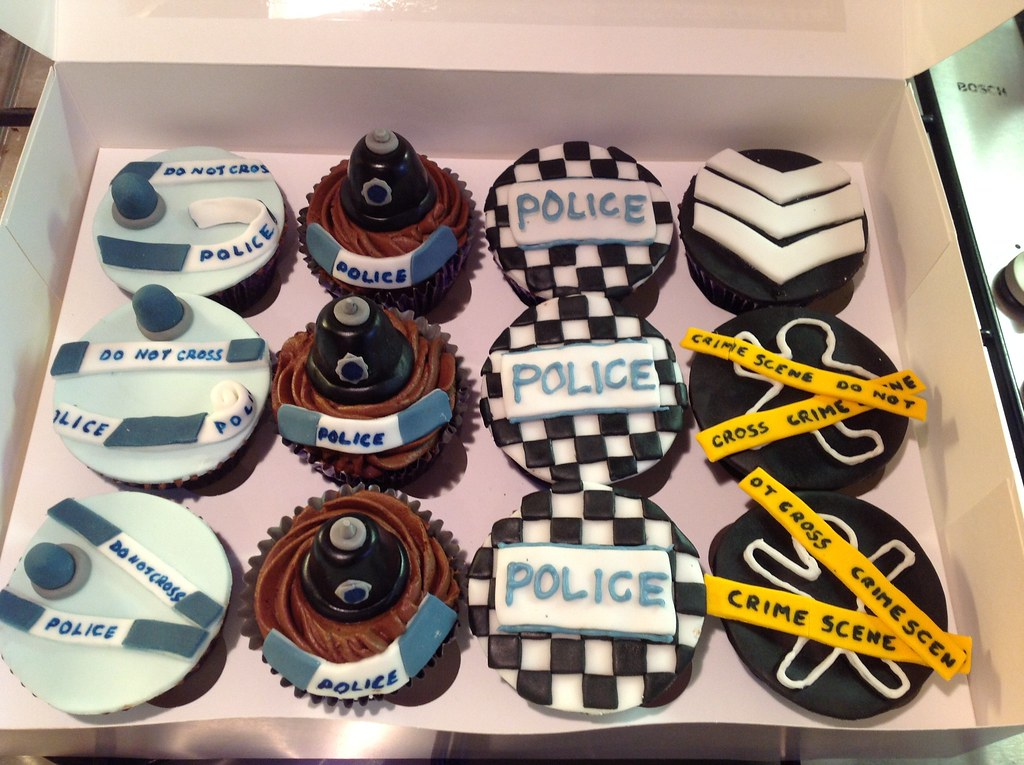 Police Officer Themed Cakes