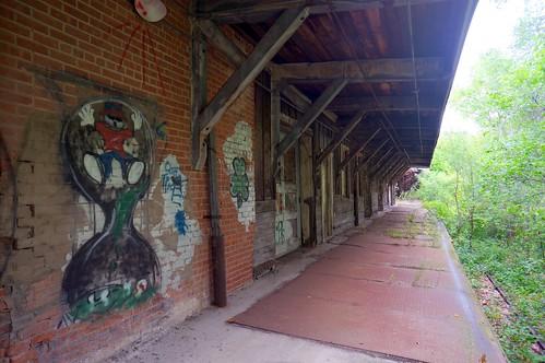 Abandoned Industrial Railroad Spur Walpole Norwood Ma