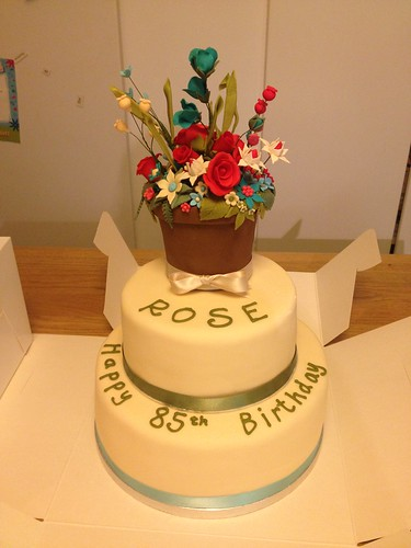 Rose Cake | by Claire at Little Bird Bakery