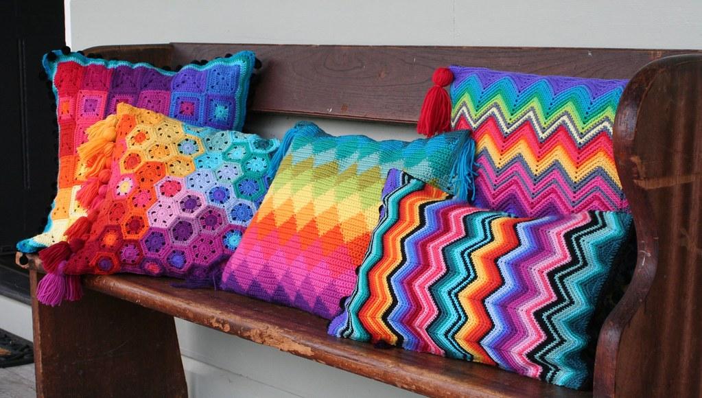 Crochet Cushion Collection Blogged Here Rettg Blogspot