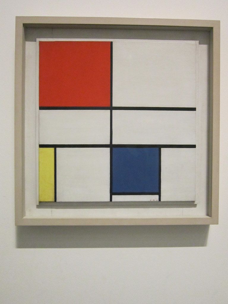 tate modern piet mondrian quot composition c no iii with flickr