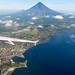 Aerial view of Legazpi City