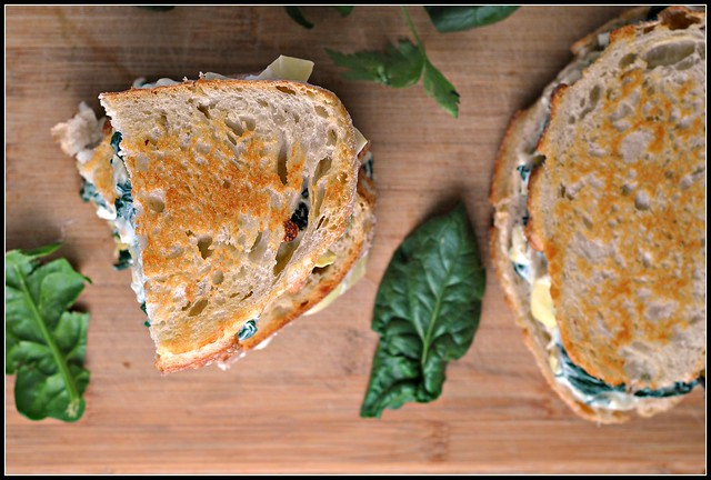 Spinach and Artichoke Melts 2