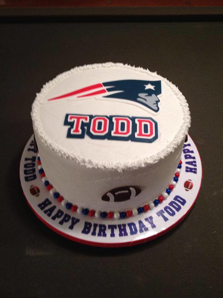 Patriots Birthday Cake Cake Lady Wpb Flickr