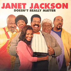 JANET JACKSON:DOESN'T REALLY MATTER(JACKET A)